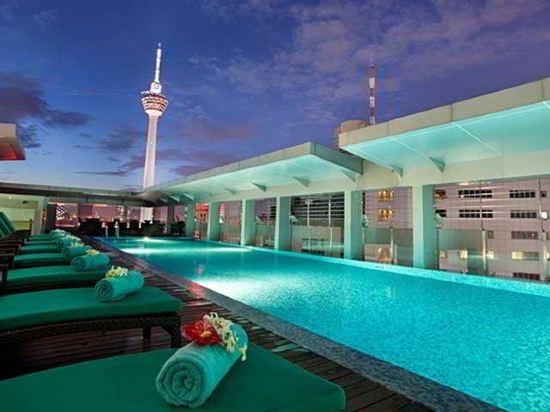 吉隆坡希爾頓逸林酒店(DoubleTree by Hilton Hotel Kuala Lumpur)室外游泳池