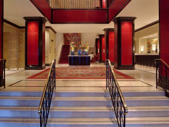 紐約市中心萬豪酒店(New York Marriott Downtown)公共區域