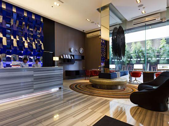 曼谷暹羅智選假日酒店(Holiday Inn Express Bangkok Siam)大堂吧