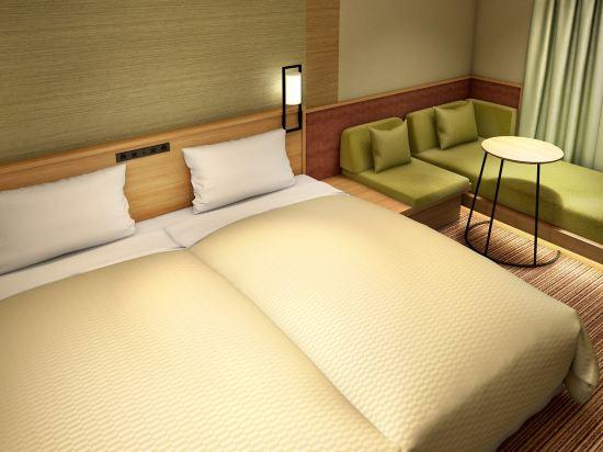 大阪難波光芒酒店(Candeo Hotels Osaka Namba)行政雙床房