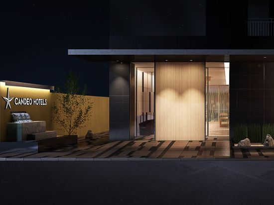 大阪難波光芒酒店(Candeo Hotels Osaka Namba)外觀