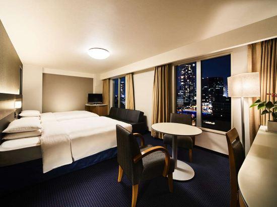 大阪麗嘉皇家酒店(Rihga Royal Hotel)西翼-標準雙床房