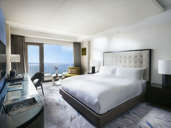 百樂達斯釜山酒店(Paradise Hotel Busan)本館行政海景露台房