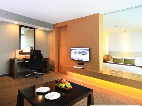 曼谷斯瓦特爾酒店(Sivatel Bangkok)瑞金特兩卧室套房