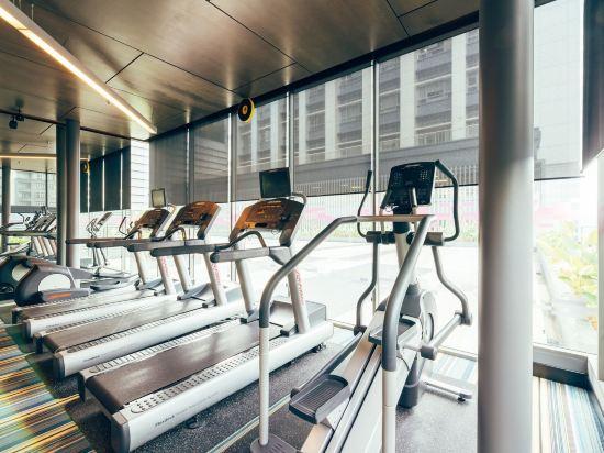 吉隆坡中環廣場雅樂軒酒店(Aloft Kuala Lumpur Sentral)健身房