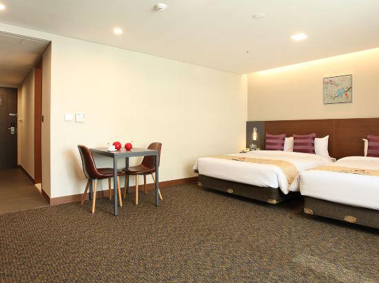 空中花園東大門金斯敦酒店(Hotel Skypark Kingstown Dongdaemun)豪華雙床公寓