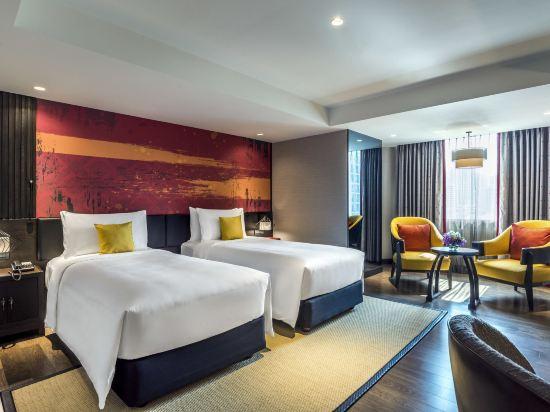 曼谷素坤逸11號美居酒店(Mercure Bangkok Sukhumvit 11)豪華房
