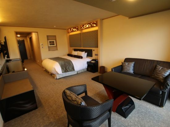 京都雅然居酒店(祇園)(Hotel Alza Kyoto)河景豪華大床房