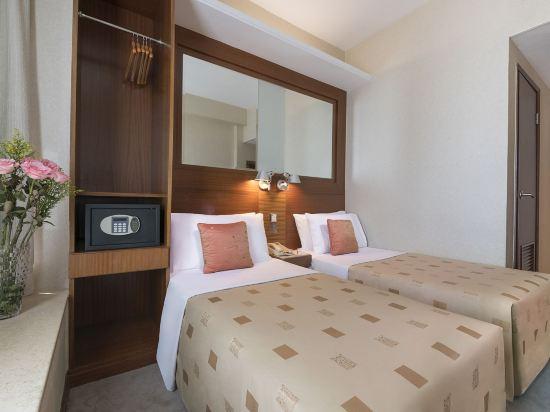 香港西九龍絲麗酒店(Silka West Kowloon Hotel)豪華房