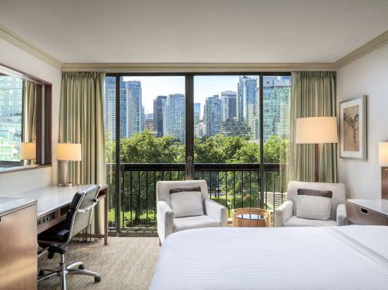 海柏温哥華威斯汀酒店(The Westin Bayshore Vancouver)尊貴雙人床房塔樓