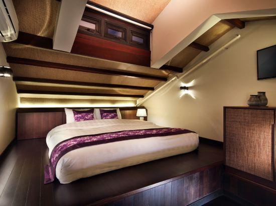 新加坡客來福酒店惹蘭蘇丹33號(Hotel Clover 33 Jalan Sultan Singapore)閣樓家庭套房