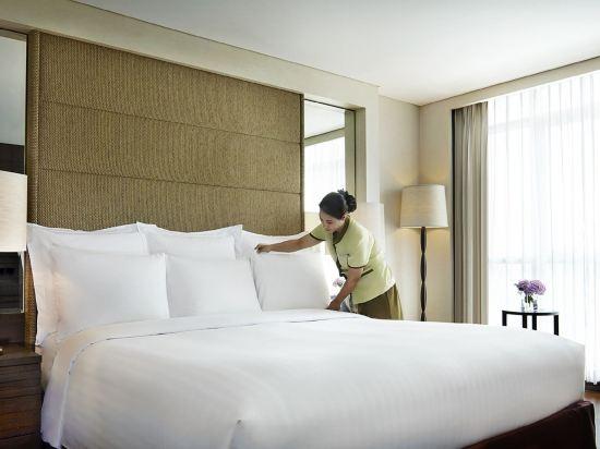 曼谷撒通維斯塔萬豪行政公寓(Sathorn Vista, Bangkok - Marriott Executive Apartments)兩卧室套房