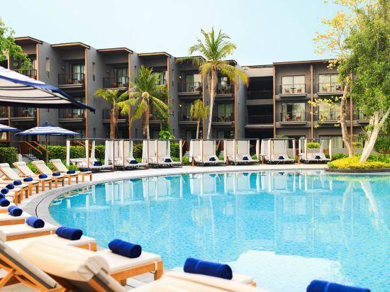 華欣萬豪水療度假村(Hua Hin Marriott Resort & Spa)室外游泳池