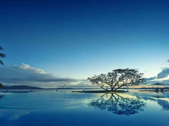 哥打京那巴魯香格里拉丹絨亞路酒店(Shangri-La's Tanjung Aru Resort & Spa Kota Kinabalu)丹絨樓行政海景套房