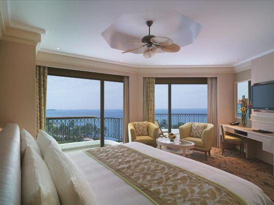 新加坡香格里拉聖淘沙度假酒店(Shangri-La's Rasa Sentosa Resort & Spa)露台海景房