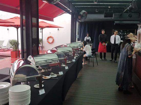 吉隆坡紅酒店(Red by Sirocco Kuala Lumpur)餐廳