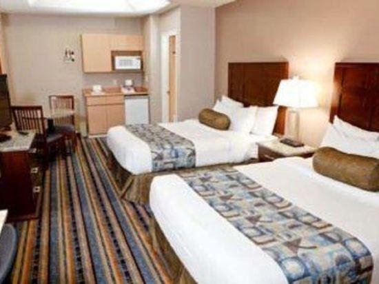 華美達温德姆華市中心酒店(Ramada Vancouver Downtown)雙大床房