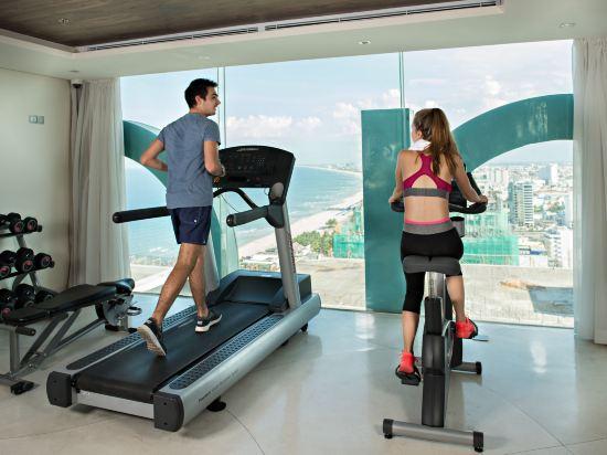 樂卡爾特峴港海灘酒店(A La Carte Da Nang Beach)健身房