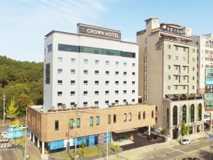 昌原皇冠酒店(Crown Hotel in Changwon)