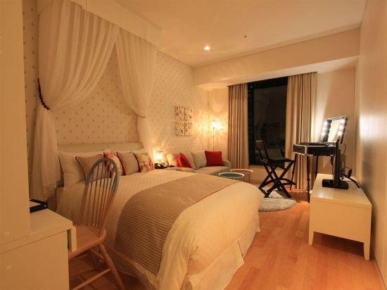 東京汐留皇家花園酒店(The Royal Park Hotel Tokyo Shiodome)標準雙人床房-家-IDC OTSUKA設計(概念樓層)