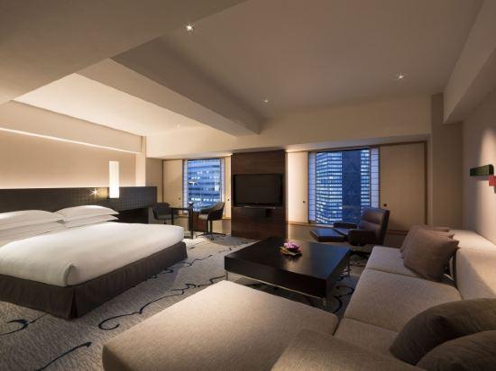 東京希爾頓酒店(Hilton Tokyo)小型行政套房 國王大床