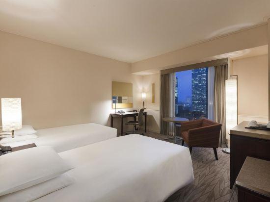 東京凱悅酒店(Hyatt Regency Tokyo)標準雙床房