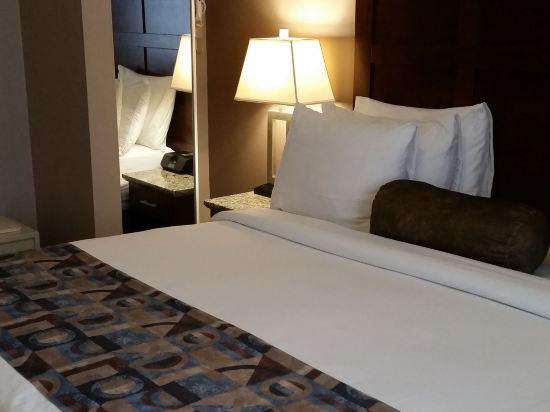 華美達温德姆華市中心酒店(Ramada Vancouver Downtown)特大床房