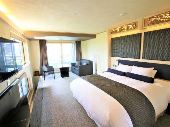 京都雅然居酒店(祇園)(Hotel Alza Kyoto)河景轉角甄選大床房