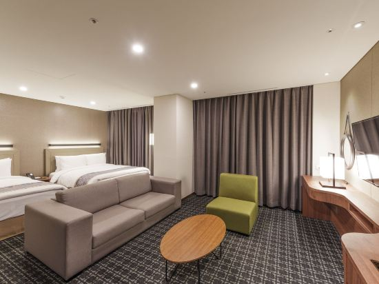 首爾帝馬克豪華酒店明洞(Tmark Grand Hotel Myeongdong)家庭套房