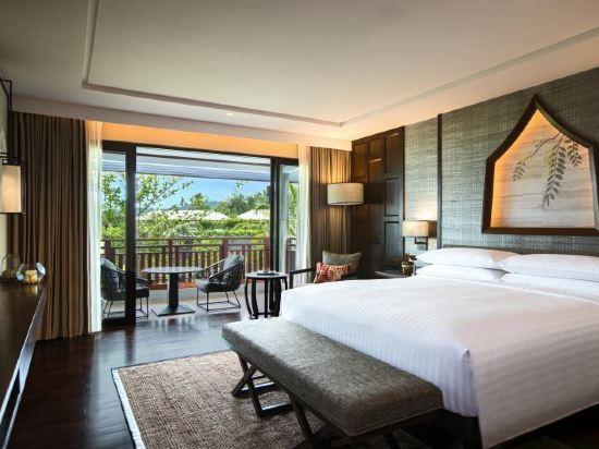 普吉島萬豪奈陽海灘水療度假村(Phuket Marriott Resort and Spa, Nai Yang Beach)套房(一臥)