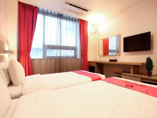 天空花園酒店濟州1號店(Hotel Skypark Jeju 1)公主雙床房