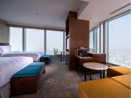 大阪萬豪都酒店(Osaka Marriott Miyako Hotel)Premium Corner Double or Twin Room