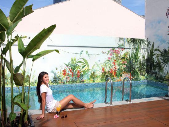 新加坡客來福酒店香港街5號(Hotel Clover 5 Hong Kong Street Singapore)室外游泳池