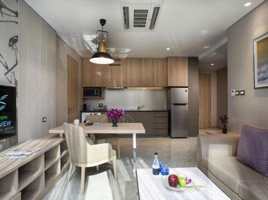 曼谷天空風景酒店(Compass SkyView Hotel Bangkok)家庭連通套房