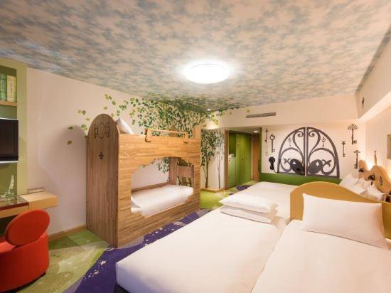 千葉東京灣希爾頓酒店(Hilton Tokyo Bay Chiba)海景快樂魔法家庭房