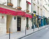 巴黎庭院盧浮宮裏沃利酒店