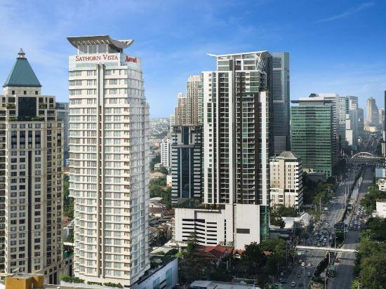 曼谷撒通維斯塔萬豪行政公寓(Sathorn Vista, Bangkok - Marriott Executive Apartments)外觀