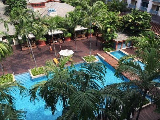 新加坡聖淘沙名勝世界節慶酒店(Resorts World Sentosa-Festive Hotel Singapore)室外游泳池