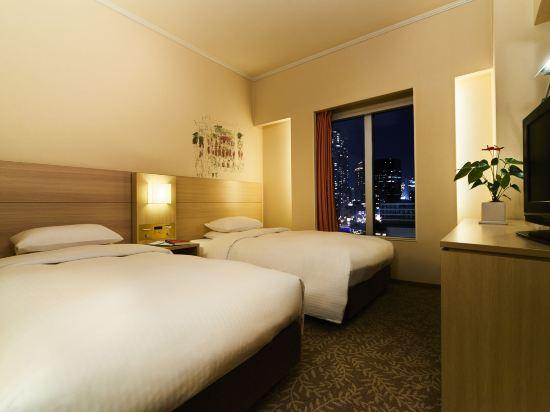 大阪麗嘉皇家酒店(Rihga Royal Hotel)緊湊雙床房