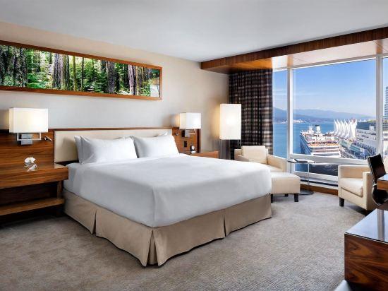 費爾蒙特環太平洋酒店(Fairmont Pacific Rim)池景豪華房