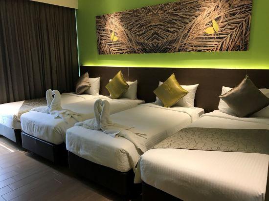 新加坡城東樂怡渡假村(D'Resort @ Downtown East Singapore)標準四人房
