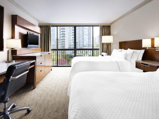 海柏温哥華威斯汀酒店(The Westin Bayshore Vancouver)尊貴2張雙人床房塔樓
