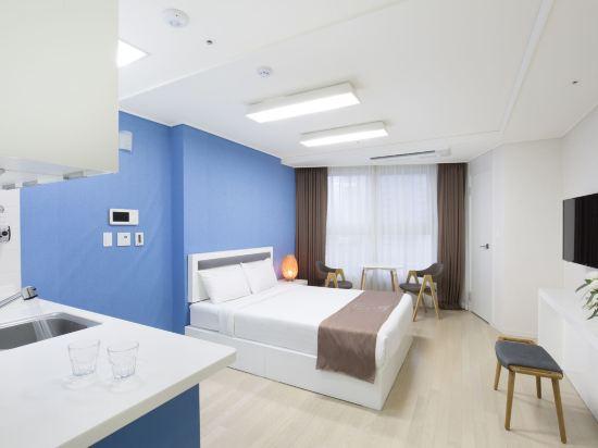 海雲台馬克酒店(Hotel the Mark Haeundae)標準大床房
