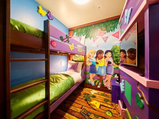 日本樂高樂園酒店(Legoland Japan Hotel)景觀朋友主題房