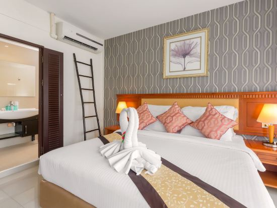 芭堤雅金色城市水療酒店(The Golden Ville Boutique Hotel & Spa Pattaya)豪華房(帶陽台)