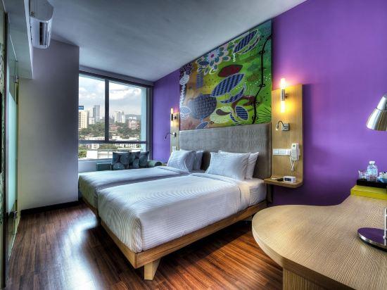 吉隆坡宜必思尚品弗拉斯爾商務園酒店(Ibis Styles Kuala Lumpur Fraser Business Park)標準城景雙床房