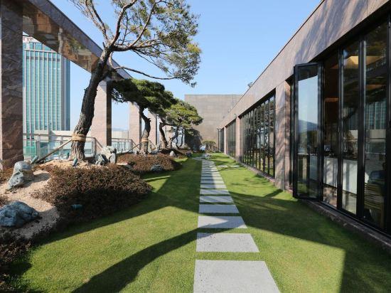 釜山阿爾班酒店(Arban Hotel Busan)院子