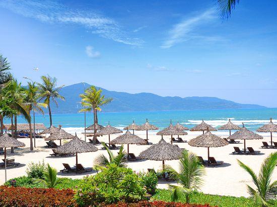 峴港富麗華大酒店(Furama Resort Danang)私人海灘