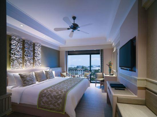 新加坡香格里拉聖淘沙度假酒店(Shangri-La's Rasa Sentosa Resort & Spa)全海景房