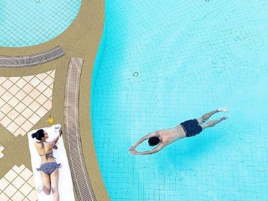 諾富特暹羅廣場酒店(Novotel Bangkok on Siam Square)室外游泳池